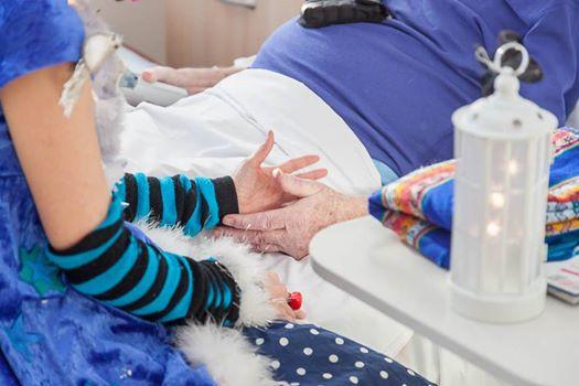 Sandra Meunier Anabelle neztoile a l'hôpital